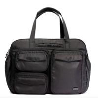 New LUG Bag PJ Duffel Heather BLACK OVERNIGHT Sac De Voyage Puddle Jumper TRAVEL