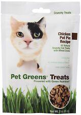 Pet Greens Treats Chicken Pot Pie Crunchy Cat Treat New