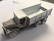 ULRICH HO SCALE 1/87 GMC DUCE 1/2 10 WHEEL STAKE BED  ALL METAL HIGHLY DETAILED