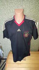 Deutschland Trikot DFB Nationalmannschaft XL WM 2010 adidas schwarz Maglia Shirt