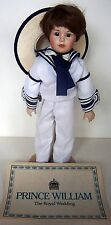 "Prince William ""The Royal Wedding Doll"" by Danbury Mint"