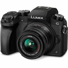 Panasonic Lumix G7 DMC-G7 Mirrorless Camera w/14-42mm Lens Black