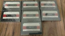 LOT OF 7 AMPEX 670 AUDIO RECORDING CASSETTE BLANK TAPE NEW SEALED