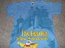 THE BEATLES YELLOW SUBMARINE official all-over print shirt Adult Small