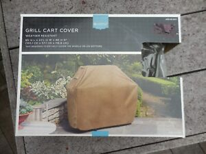 Gas Grill Cart Cover Weather Resistant  65 X 22 1/2 X 46