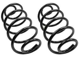 2 Coil Springs MOOG Rear Constant Rate REPLACE GMC OEM # 88913685