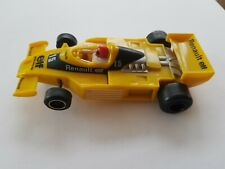 Scalextric F1 Grand Prix Car Renault Elf RS01 working 1980s C134