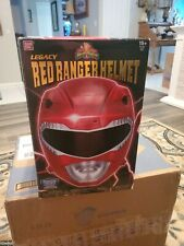 Bandai Mighty Morphin Power Rangers Legacy Red Ranger Helmet 1:1 Scale
