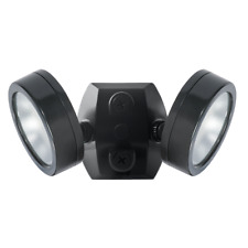 RAB LES2X13YB LESLIE 2x13W 3000K Black 2 Adjustable Head LED Floodlight