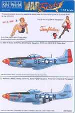 Kits World Decals 1/32 P-51D MUSTANG Temptation & Daisy Mae