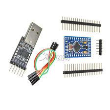 Pro Mini atmega328 5V 16M Arduino Compatible + CP2102 USB 2.0 to UART TTL