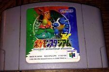 [POKEMON STADIUM 64 JAPAN VERSION N64 NINTENDO 64 VG SHAPE WORKS ON USA CONSOLE