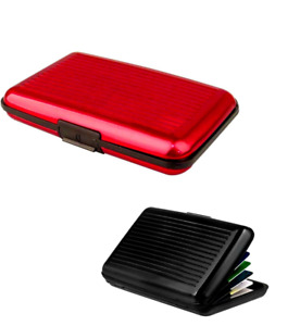 RFID Block Aluminium Credit Card Holder Business Security Case Wallet Travel UK