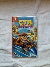 Crash Team Racing Nintendo Switch - Nintendo Switch CASE + GAME