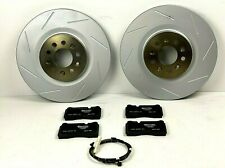 Aston Martin DB9 & V8 Vantage Front Brake Pads & Rotors Set - Genuine