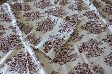 "HOME COLLECTIONS BY MADISON AVENUE COTTON UPHOLSTERY TOILE  56"" W-1YD 25""+1YD 7"""