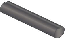 "1 1/4"" x 36"" Fully Keyed Shafting C1018 Steel"