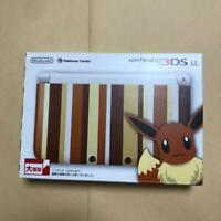 Nintendo 3DS LL Pokemon Eevee Edition Pokemon Center Limited from JAPAN