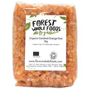 Organic Candied Orange Peel - Forest Whole Foods