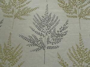 Harlequin Curtain Fabric FOLIUM 1.05m Pistachio Ferns on Sparkling Cloth Design