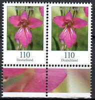 3471 postfrisch Paar waagerecht Rand unten BRD Bund Deutschland Briefmarke 2019