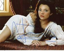 "Natalie Dormer ""The Tudors"" AUTOGRAPH Signed 8x10 Photo ACOA"