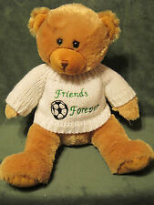 "2007 Animal Alley Teddy Bear Friends Forever 14"" Plush Geoffrey Toys R Us"