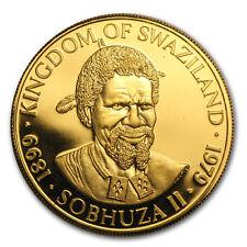 1979 Swaziland 1 oz Gold 2 Emalangeni Proof