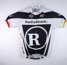 Livestrong Radio Shack Trek Cycling Bike Racing Athletic Jersey Large