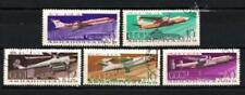 Avions Russie URSS (6) série complète de 5 timbres oblitérés