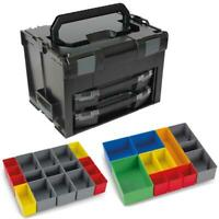 Sortimo Systemkoffer LS-Boxx 306 schwarz 2 x i-Boxx 72 , Insetboxenset I3 + H3