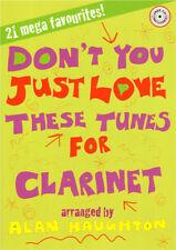 21 Pop Klassik Traditional Stücke für Klarinette Clarinet und Klavier Noten m CD