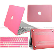 Matched Silicon Keyboard Skin Cover Hard Case for Macbook Air 13.3 Pro 13 Retina