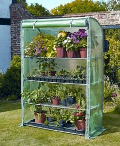 Smart Garden Gro-Zone Max Growhouse 4 Tier Mini Greenhouse Plant Protection