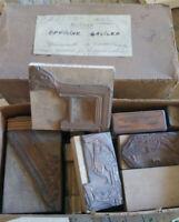 Officine Galileo - Lotto di stampi e timbri vintage