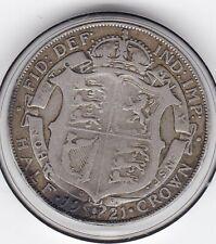 1921   King   George   V   Silver  Half  Crown  -  British Coin