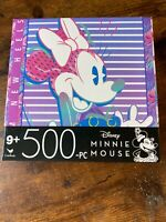 Disney Minnie Mouse 500 Pc. Jigsaw Puzzle 11 In X 14 In * NEW!