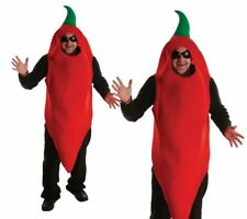 Chili Pepper Mens Fancy Dress Costume Stag Night Chilli Fun Dress Up Outfit