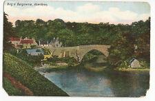 Scotland - Aberdeen, Brig o' Balgownie - 1900's postcard
