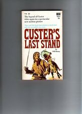 CUSTERS LAST STAND - WILL HENRY -  VINTAGE  P/BACK -1968