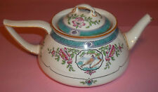 Minton Teapot-Bird & Flowers–Japonica-B893-6-Made for Burley & Co.in Chicago