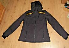 Erima Softshell Jacke  schwarz curcuma Größe 42 NEU