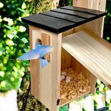 New ListingHand-Mart Bird Nesting and Feeder House-14×7.5×7 inch Solid Premium Pine Wood