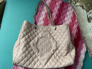 Ladies Guess Handbag Pink