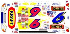 #6 Mark Martin Tombstone Pizza 1/64th Ho Scale Slot Car Waterslide Decals