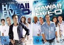 12 DVDs * HAWAII FIVE-0 - SEASON / STAFFEL 5 + 6 IM SET - Scott Caan # NEU OVP +
