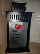 Led laterne weiß , Geschenk,  Dekoration , Deko 44 cm