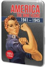 America the War Years [New DVD] Black & White, Full Frame, Tin Case