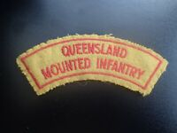 Queensland Mounted Infantry Badge Patch Shoulder Flash (D)