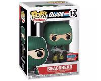 Beachhead GI Joe 2020 NYCC Exclusive Funko Pop-Retro Toys 13- In Hand-Limited